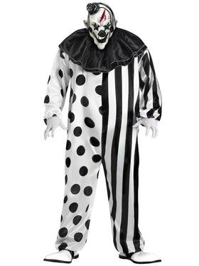 Bleeding Killer Clown - Adult Plus Size Costume