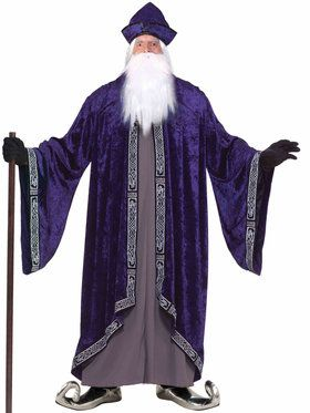 Men's Plus Size Grand Wizard Costume