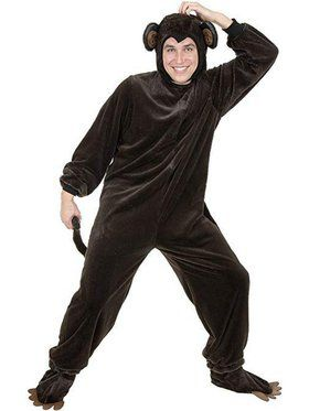 Monkey - Micro Fiber Adult Costume
