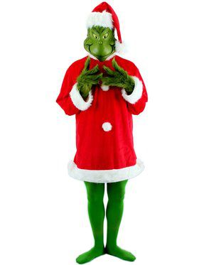 Mens Santa Grinch With Mask Costume  sc 1 st  BuyCostumes.com & Dr. Seuss Costumes - Halloween Costumes | BuyCostumes.com