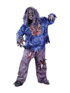 Mens Plus Size Zombie Costume