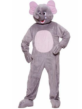 Plush Elephant Adult Costume