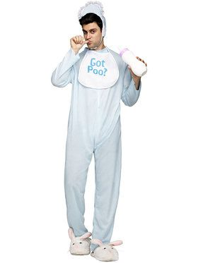 Men's Poopie Jammies Costume