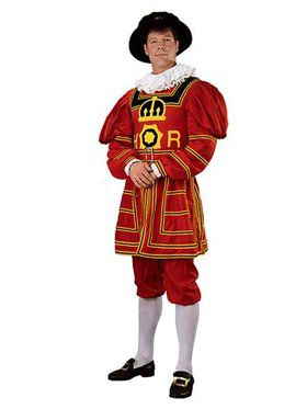 Mens Regency Collection Beefeater Costum
