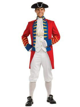 Mens Regency Collection British Redcoat