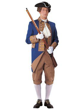 Men's Revolutionary Reenactment Colonist Costume