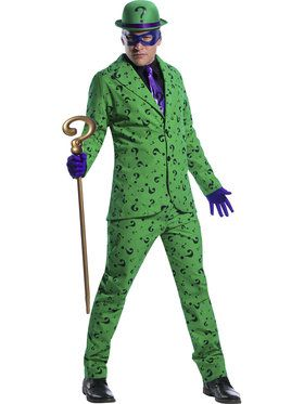 Riddler Costume for Men