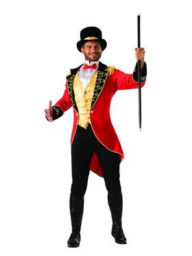 Adult Ringmaster Mens Costume