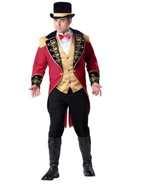 Mens Ringmaster Adult Plus Costume