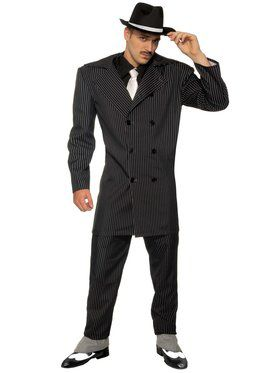 Roaring 20's Zoot Suit Mens Costume