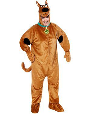 Mens Scooby Doo Adult Plus Costume