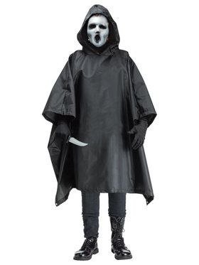 Men's Scream Tv Costume