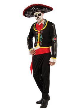 Mens Senor Muerto Costume