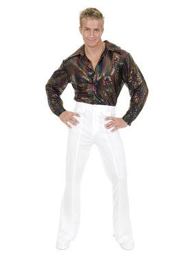 Sequin Disco Shirt for Men