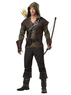 Mens Sherwood Forest Robin Hood Costume