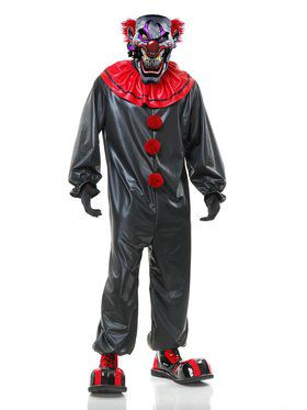 Men's Smokin Joe The Evil Clown Adult Costume