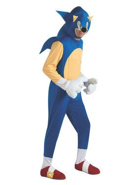 Mens Sonic The Hedgehog Adult Costume