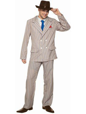 Speakeasy Sam Mens Costume