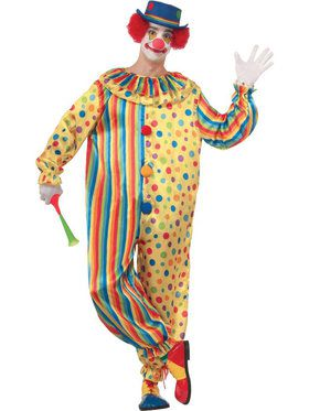 Men's Spots The Clown Costume