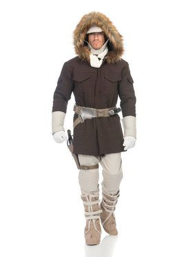 Mens Star Wars Hoth Han Solo Costume