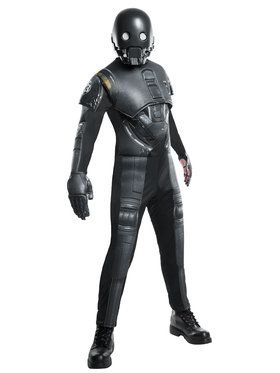 Men's Star Wars Rogue 1 Seal Droid K 2SO Deluxe Costume