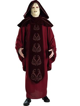 Star Wars Supreme Emperor Palpatine Costume For Men
