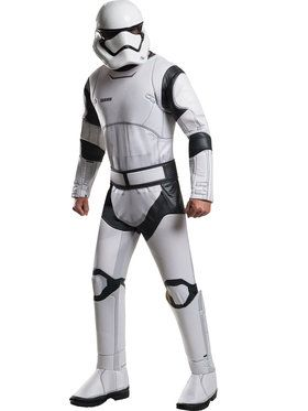 Deluxe Men's Star Wars Stormtrooper Costume