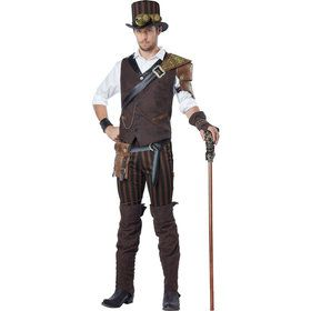Steampunk Journeyman Mens Costume