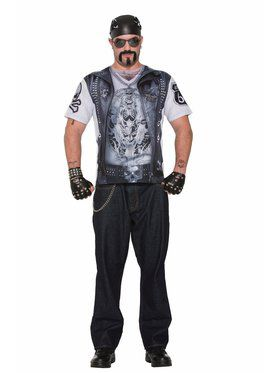 Sublimation Biker Guy Shirt