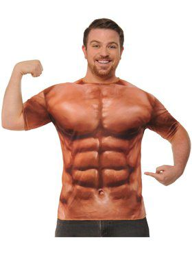 Mens Sublimination Muscle Shirt Costume