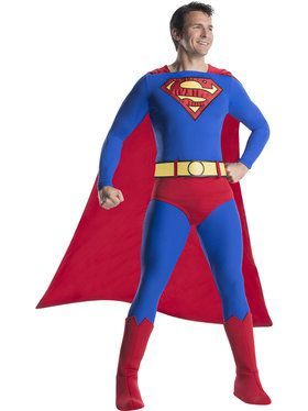 Superman Men's Costume