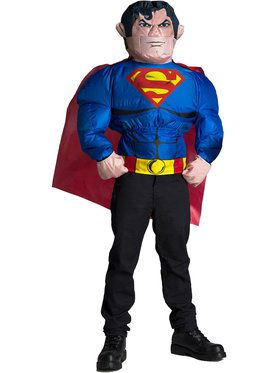 Superman Inflatable Mens Costume Top