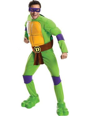 Mens Deluxe Donatello Costume