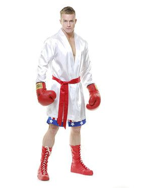 Mens The Boxer Costume
