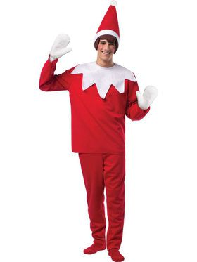 Men's The Elf On The Shelf Costume
