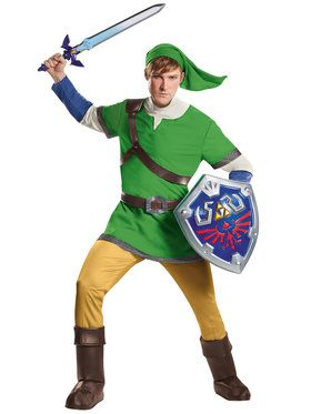 The Legend of Zelda - Deluxe Mens Link Costume