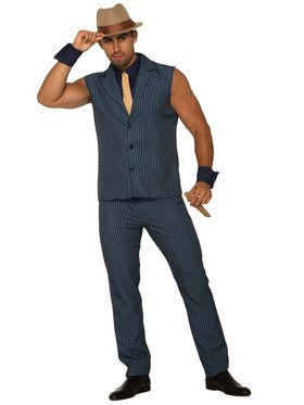 Mens Tough Tony Gangster Costume