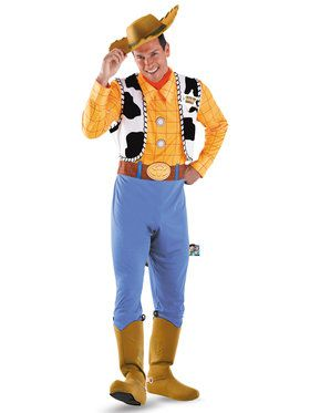 Woody Deluxe Mens Toy Story Costume