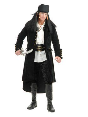Treasure Island Pirate - Coat Adult Costume
