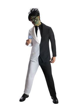 Mens Two Face Costume