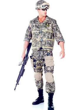 Mens U.s. Army Ranger Costume
