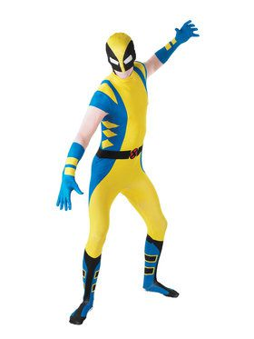 Wolverine X-Men Skin Suit Costume