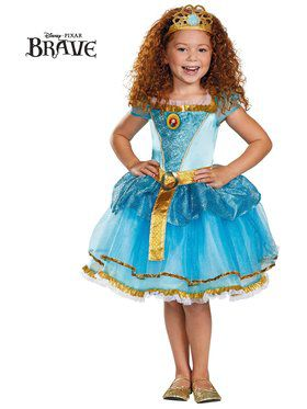 Girls Merida Tutu Prestige Costume