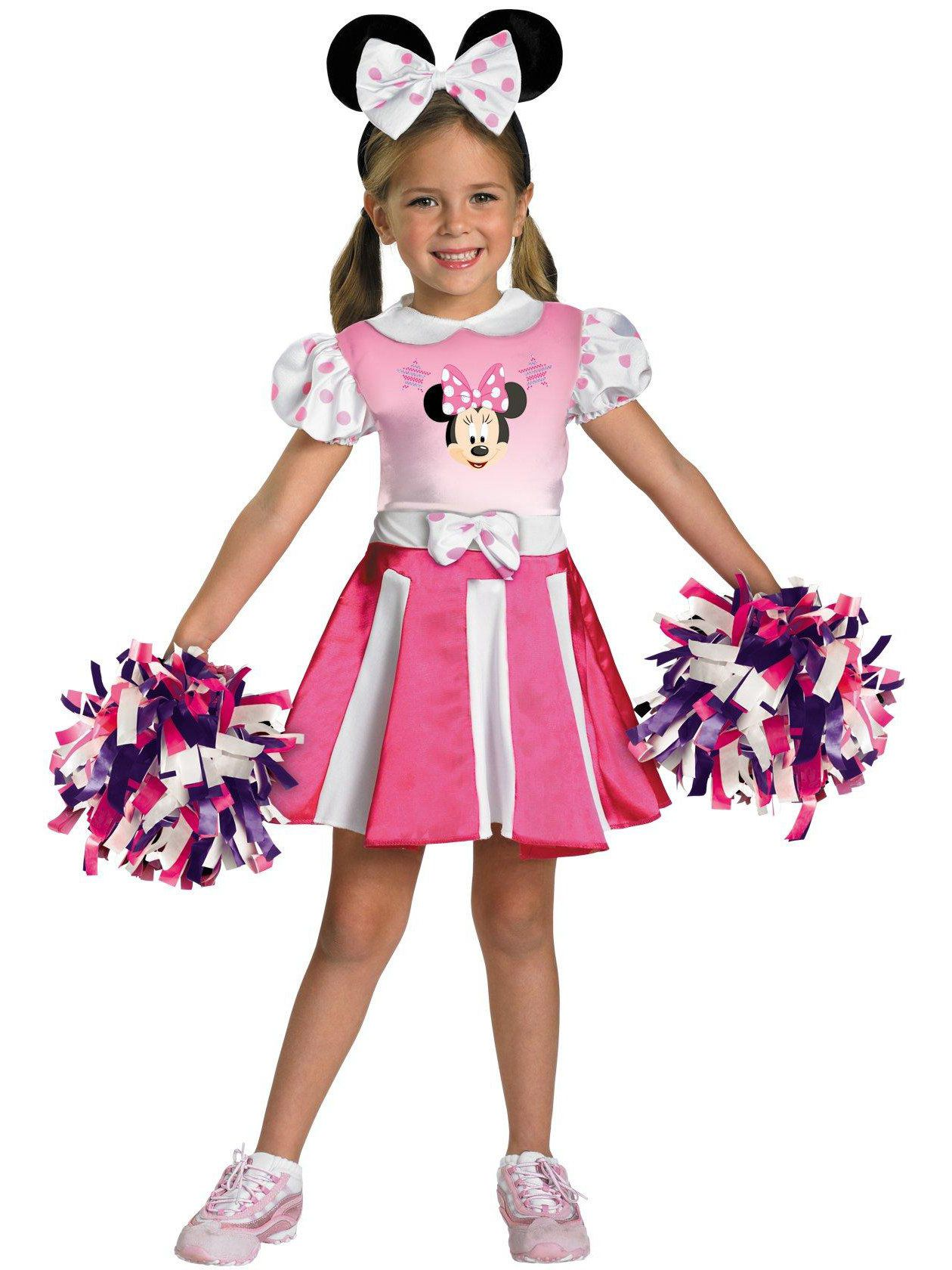Mickey Mouse Clubhouse - Minnie Mouse Cheerleader Toddler / Child Costume - Baby Halloween Costumes   BuyCostumes.com  sc 1 st  BuyCostumes.com & Mickey Mouse Clubhouse - Minnie Mouse Cheerleader Toddler / Child ...