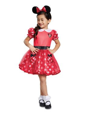 Infant Red Minnie Mouse Mickey Costume