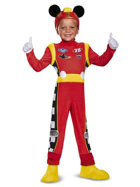 Mickey Roadster Deluxe Child Costume