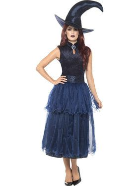 Midnight Witch Deluxe Womens Costume