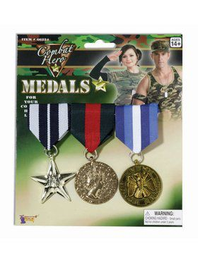 Military Medals - 3 Set