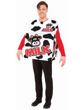Milk - Adult - O/S Adult Costume
