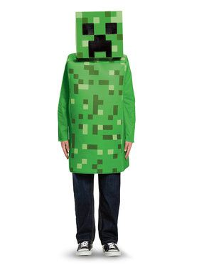 Minecraft Child Creeper Classic Costume